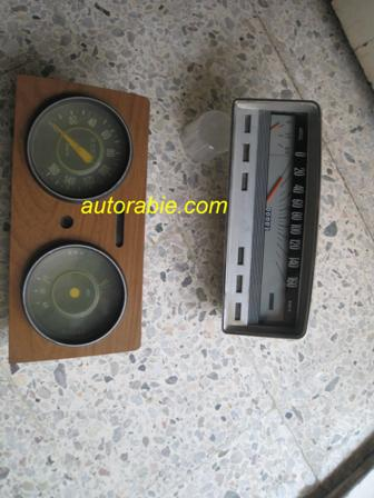 fiat 124 dash board meters gauges cluster panelقطع غيار سيارات أصلية فيات auto parts original تابلوه عدادات