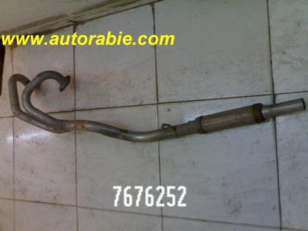 exhaust pipe muffler fiat cinquecento 7676252 auto parts original شكمان عادم ماسورة فيات flexible