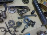 gear box transmission  parts fiat shaft fork levers flange